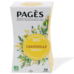 Infusion bio Camomille Pagès x 20 sachets