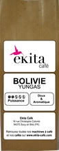 Café en grains bio arabica Bolivie Yungas 250g