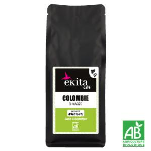 Café bio en grains arabica Colombie 250g
