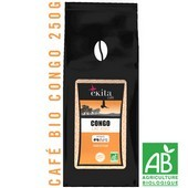 Grand cru de Café arabica bio en grains Congo 250g