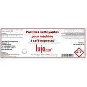 120 pastilles nettoyantes expresso Lujoclean 1,3g