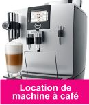 Location machine à café professionnelle Jura Impressa XJ9
