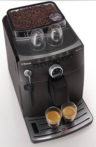 Saeco intuita hd8750 11 black cafeti re expresso automatique - Machine a cafe a grain saeco ...