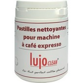 100 pastilles nettoyantes expresso Lujoclean 2,0g
