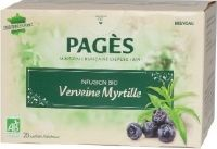 Infusion bio Fruits Rouges Verveine Myrtille x 20 sachets