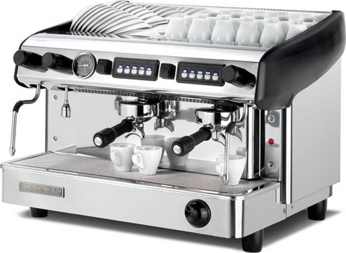 Machine caf expresso professionnelle 2 groupes expobar megacrem - Machine a cafe expresso ...