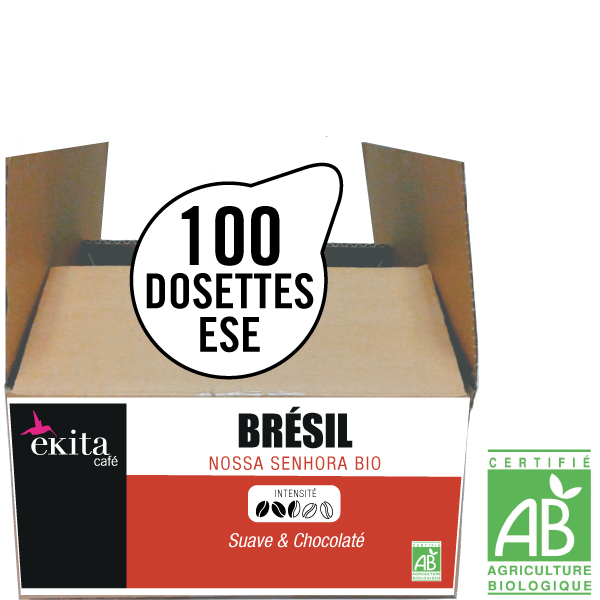 Dosettes expresso ese de caf bio br sil x 100 - Dosette ese grande surface ...